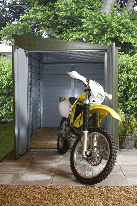 garage exterieur moto. Black Bedroom Furniture Sets. Home Design Ideas